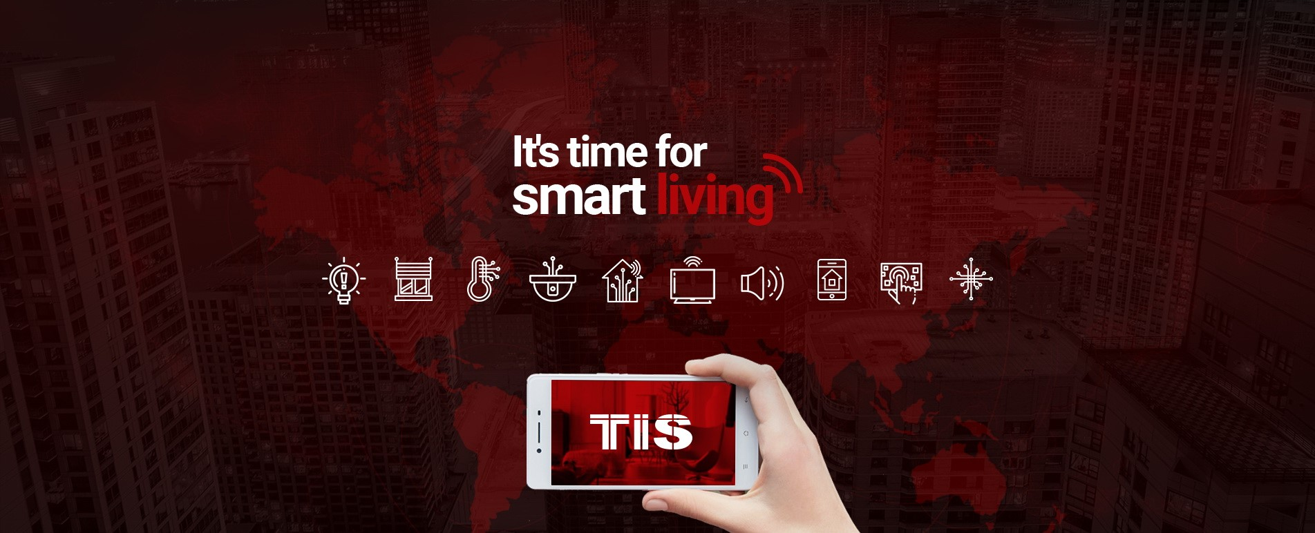 TIS Smart Home free apps – control your room remotely