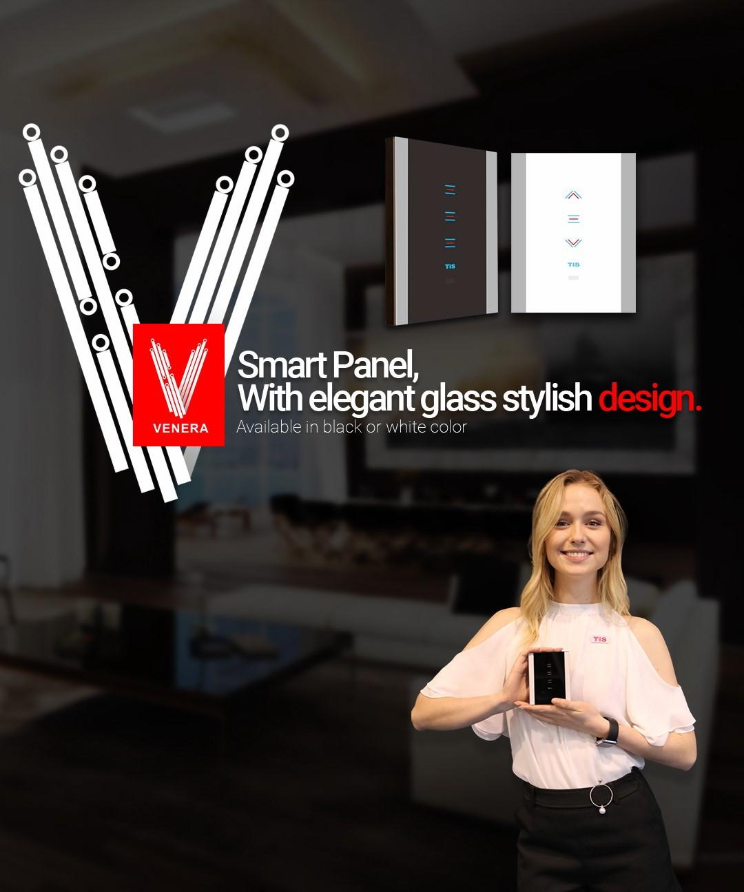 TIS Technology – Venera Smart WIFi Lights Switch