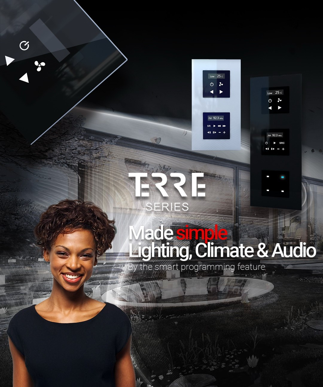TIS Terre Series , Simple Automation Control