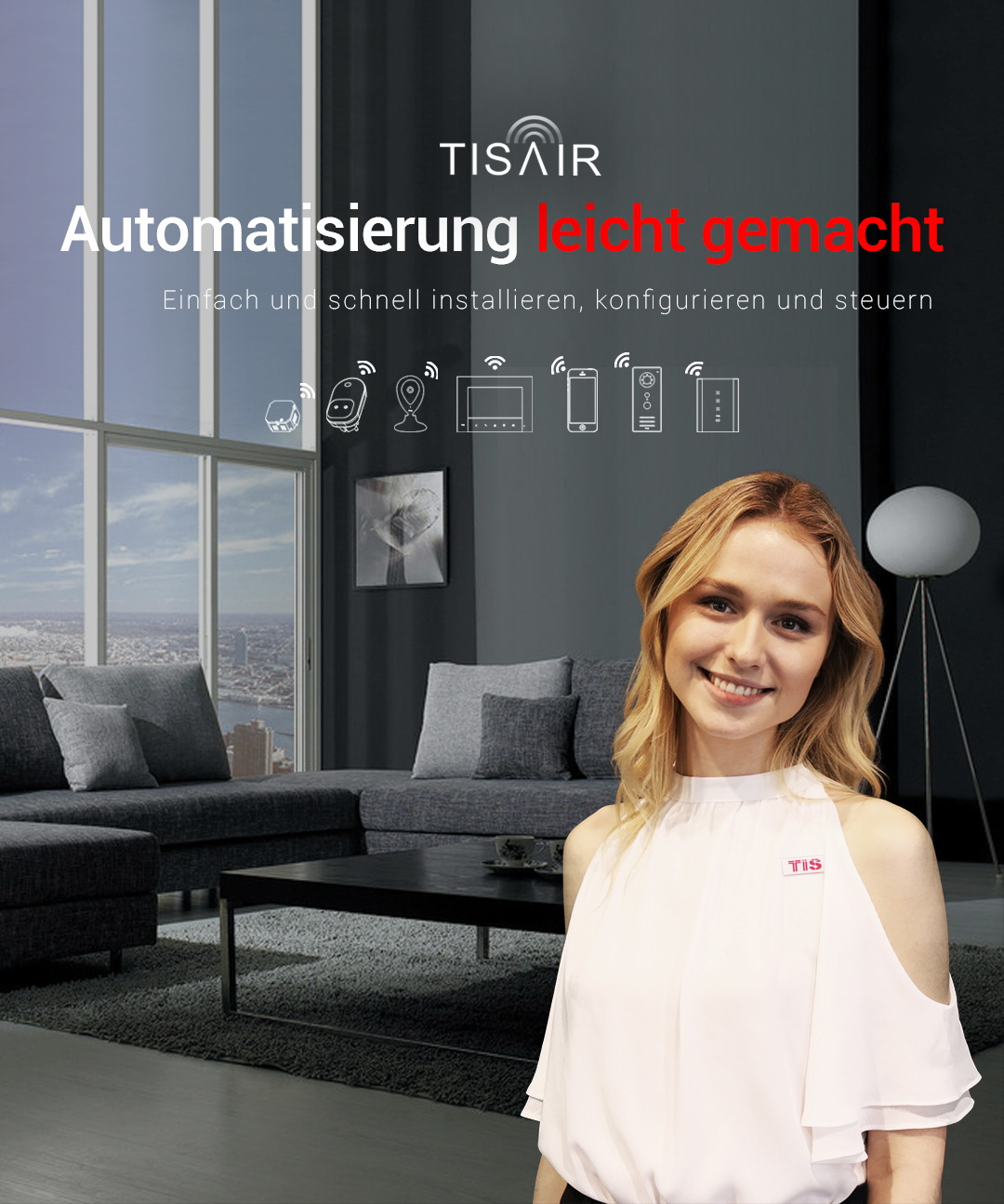 TIS AIR – WiFi Automation Made Easy