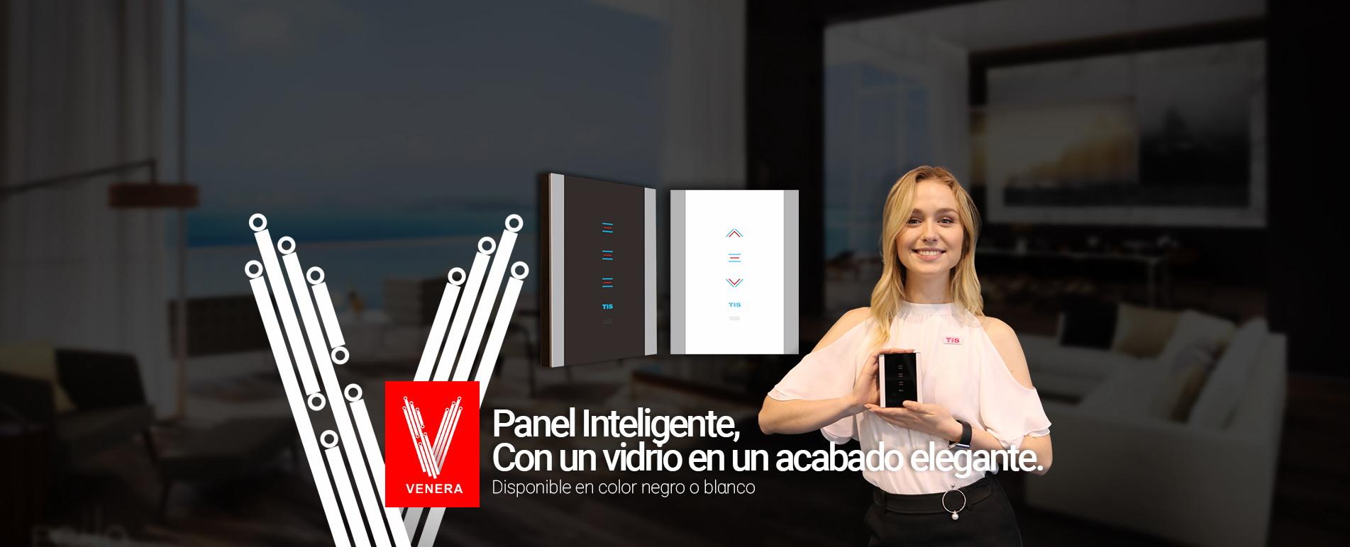 Tecnología TIS– Interruptor de Luces Venera, Inteligente y con Wi-Fi