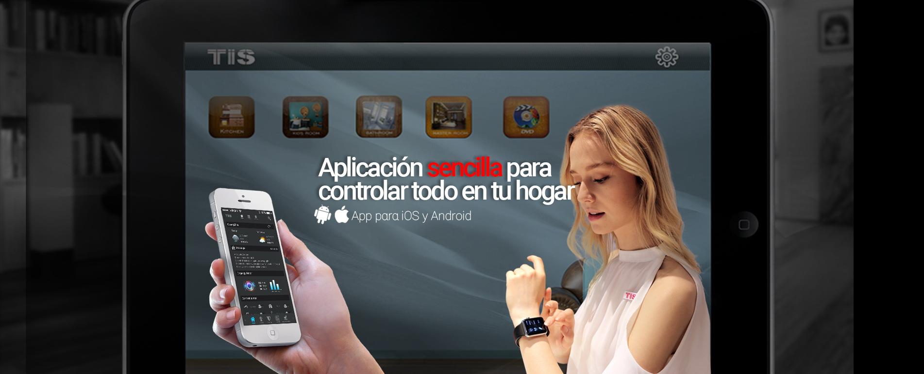 Toma el control de tu vivienda inteligente – con la aplicación TIS para Apple Watch