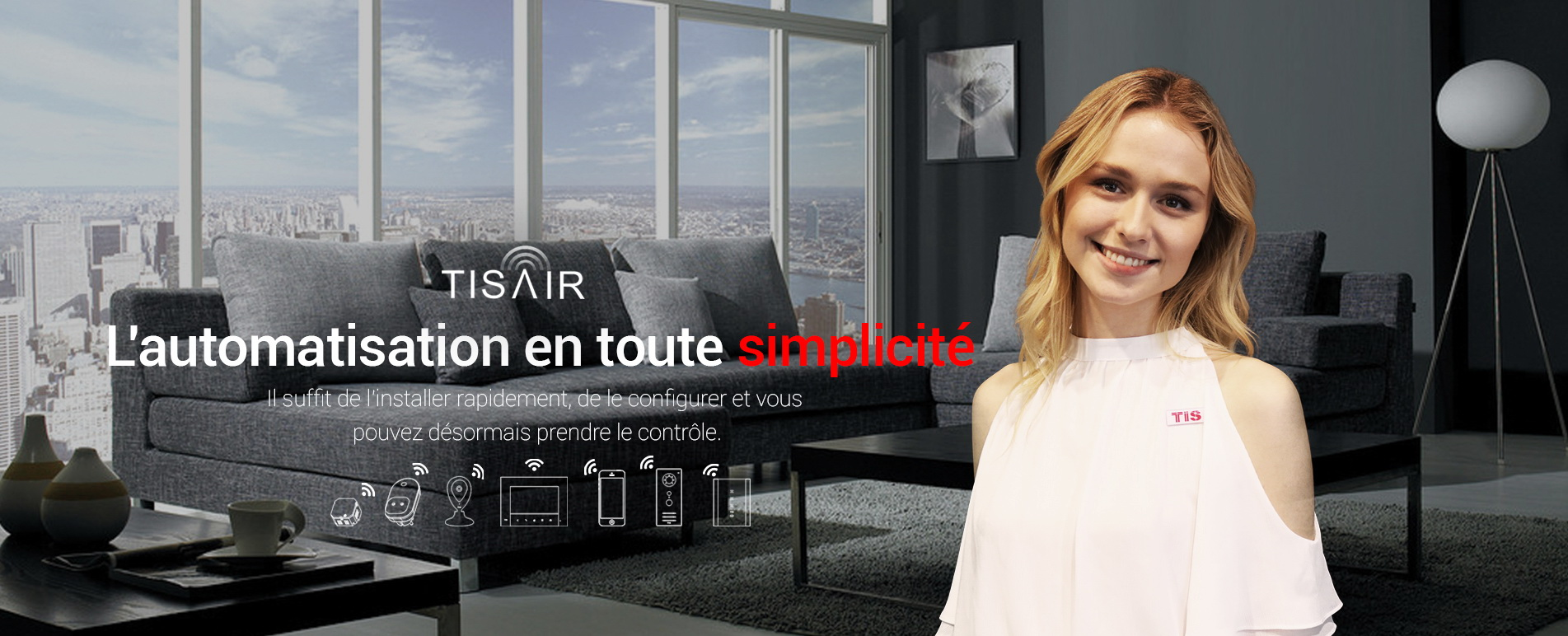 TIS AIR – Automatisation WIFI facile