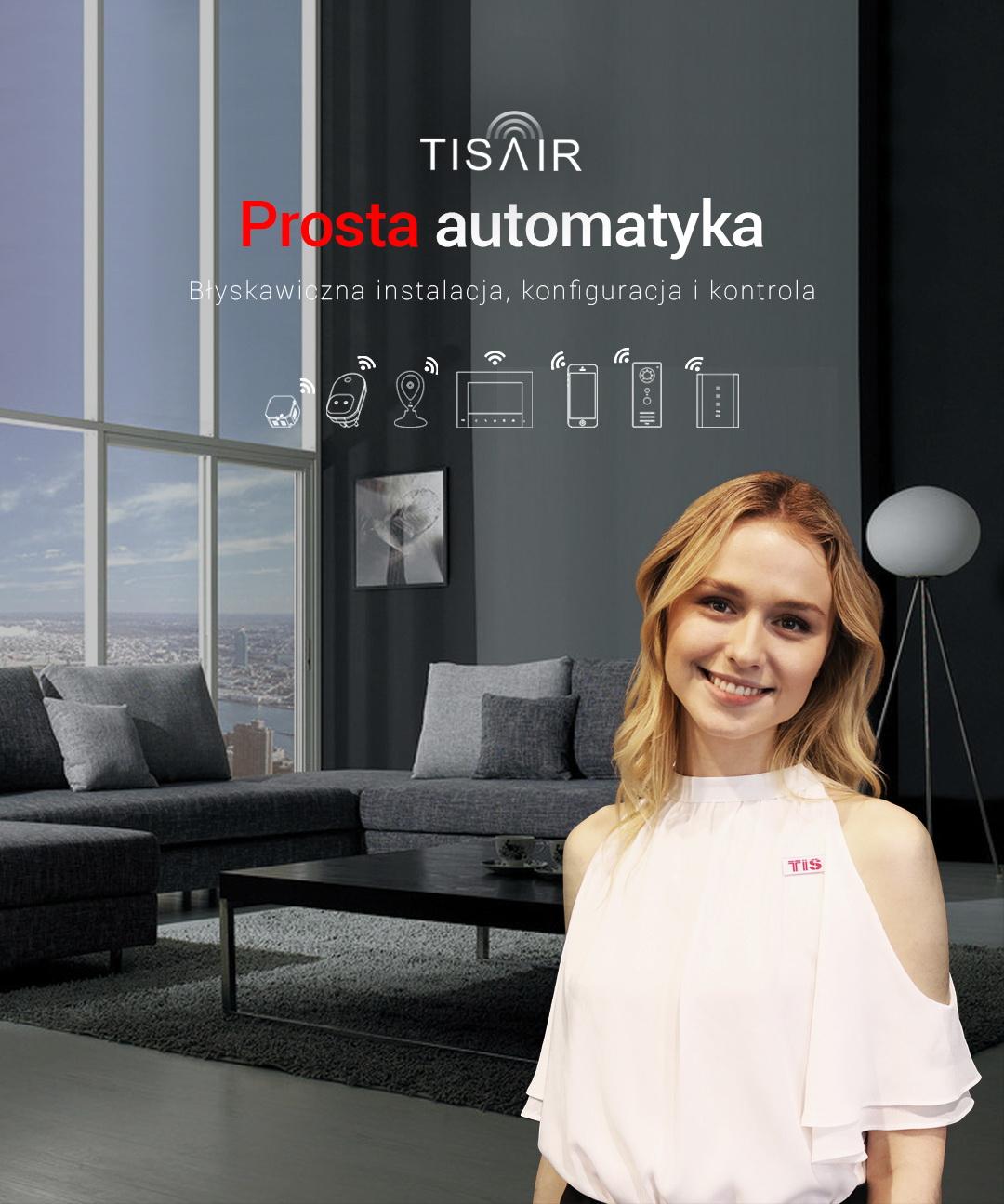 TIS AIR – łatwa automatyka Wi-Fi