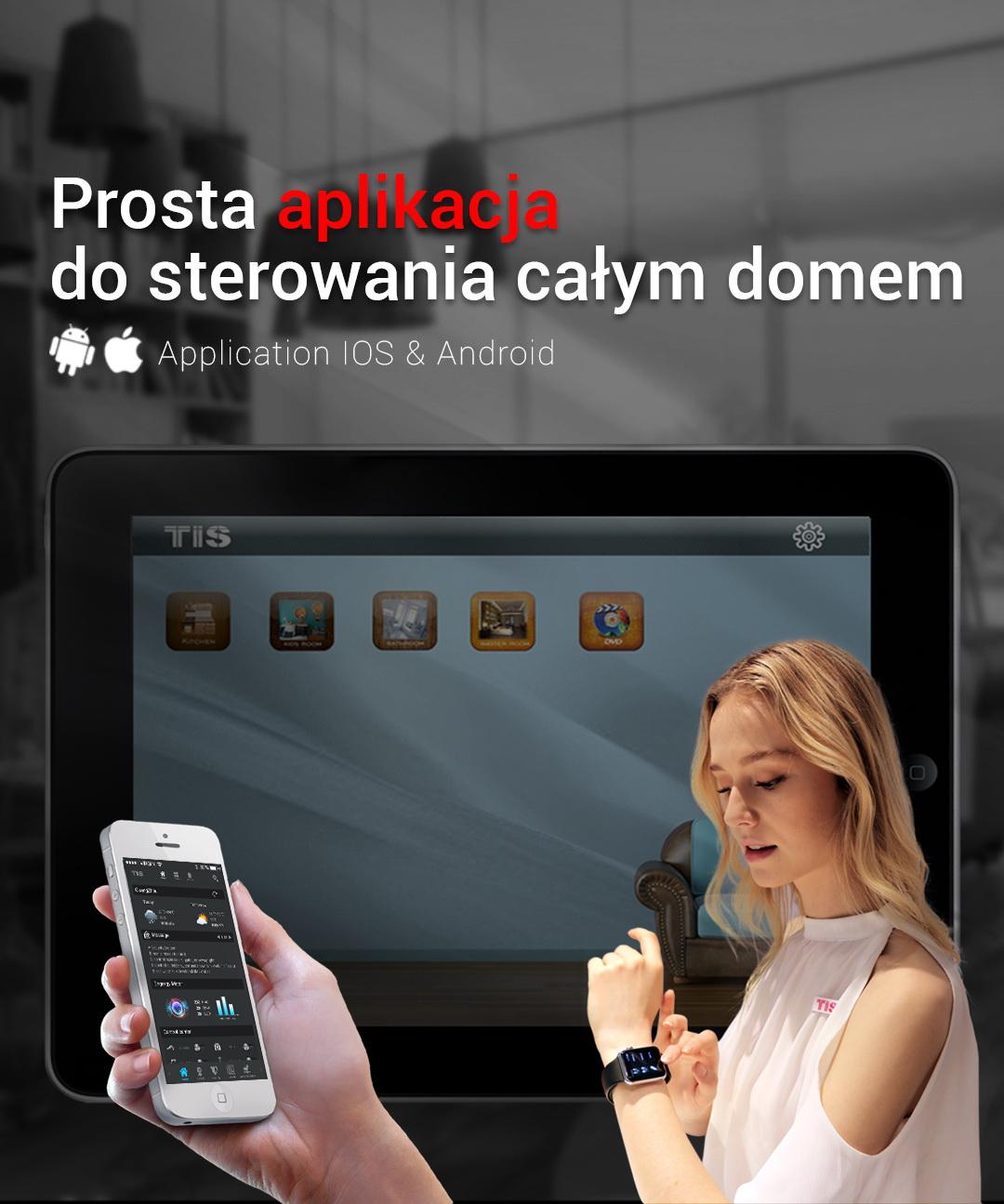 Steruj swoim inteligentnym domem – aplikacja TIS na Apple Watch