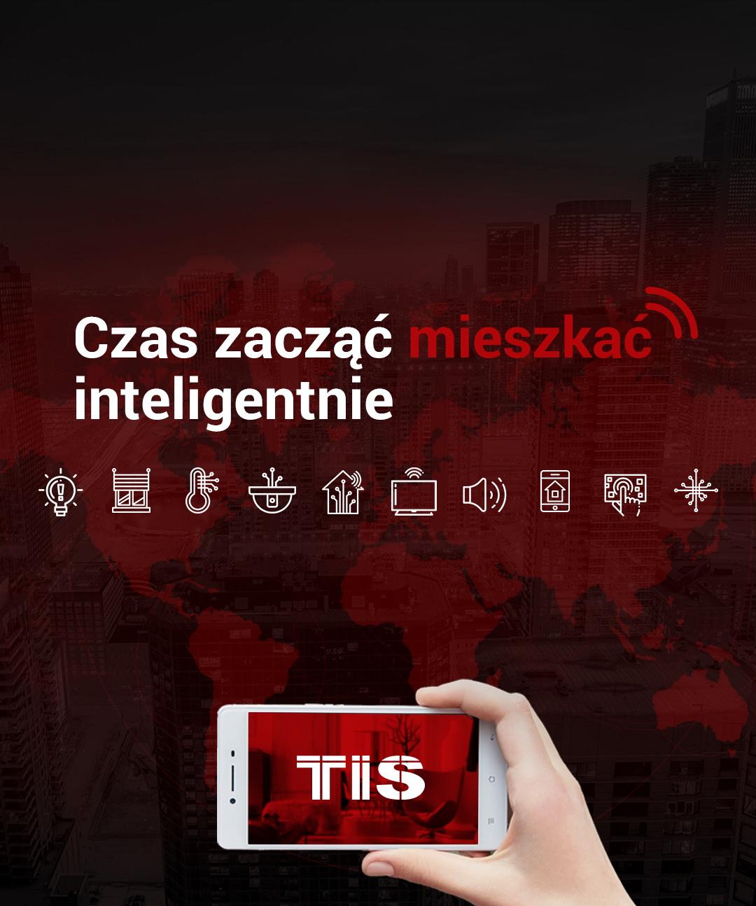 Darmowe aplikacje TIS Smart Home – steruj pomieszczeniami zdalnie