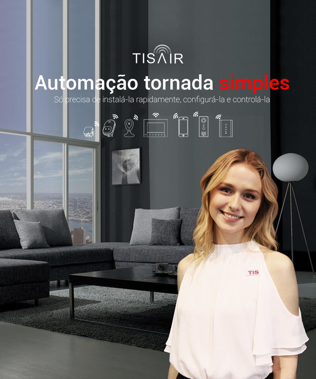 TIS AIR – A Automação WiFi simplificada