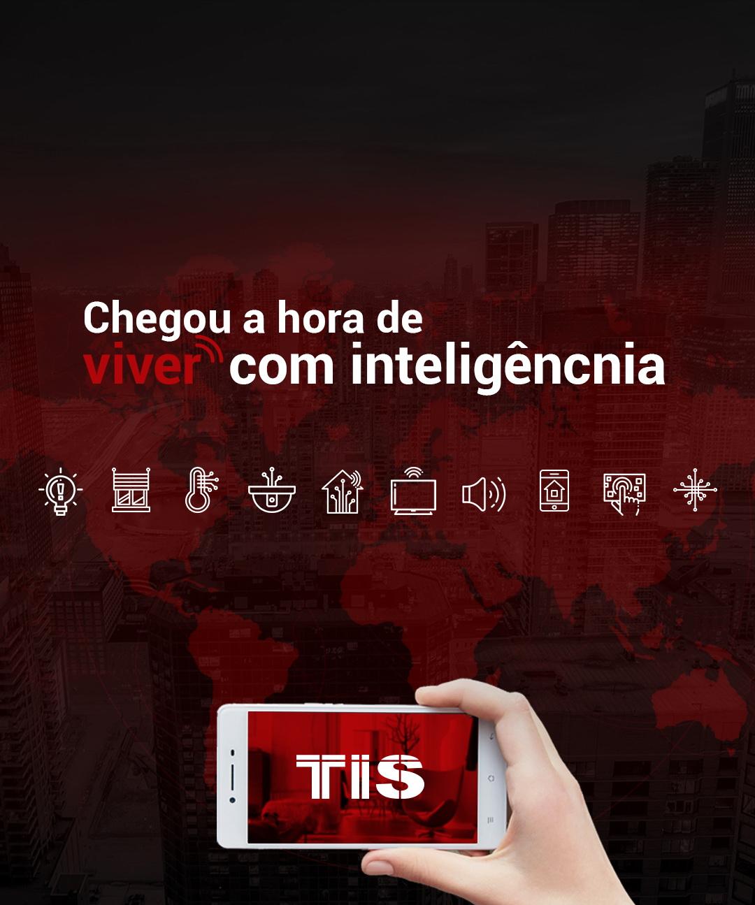 Aplicações grátis TIS Smart Home – controle remotamente o seu quarto