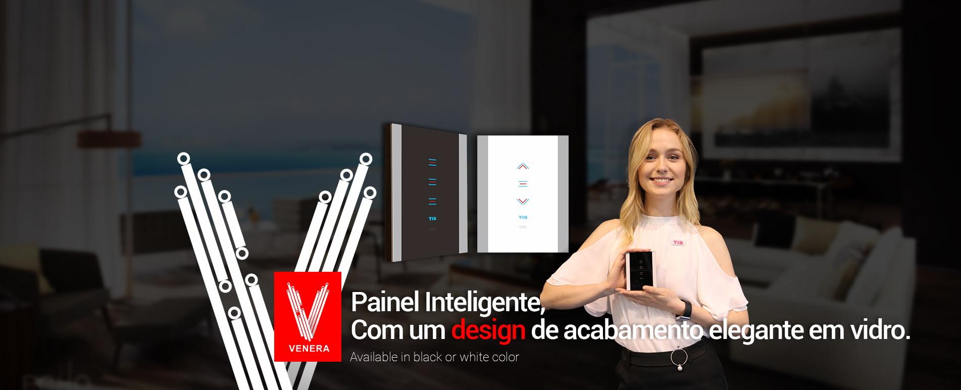 Tecnologia TIS– Interruptor Inteligente de Luzes com WiFi Venera
