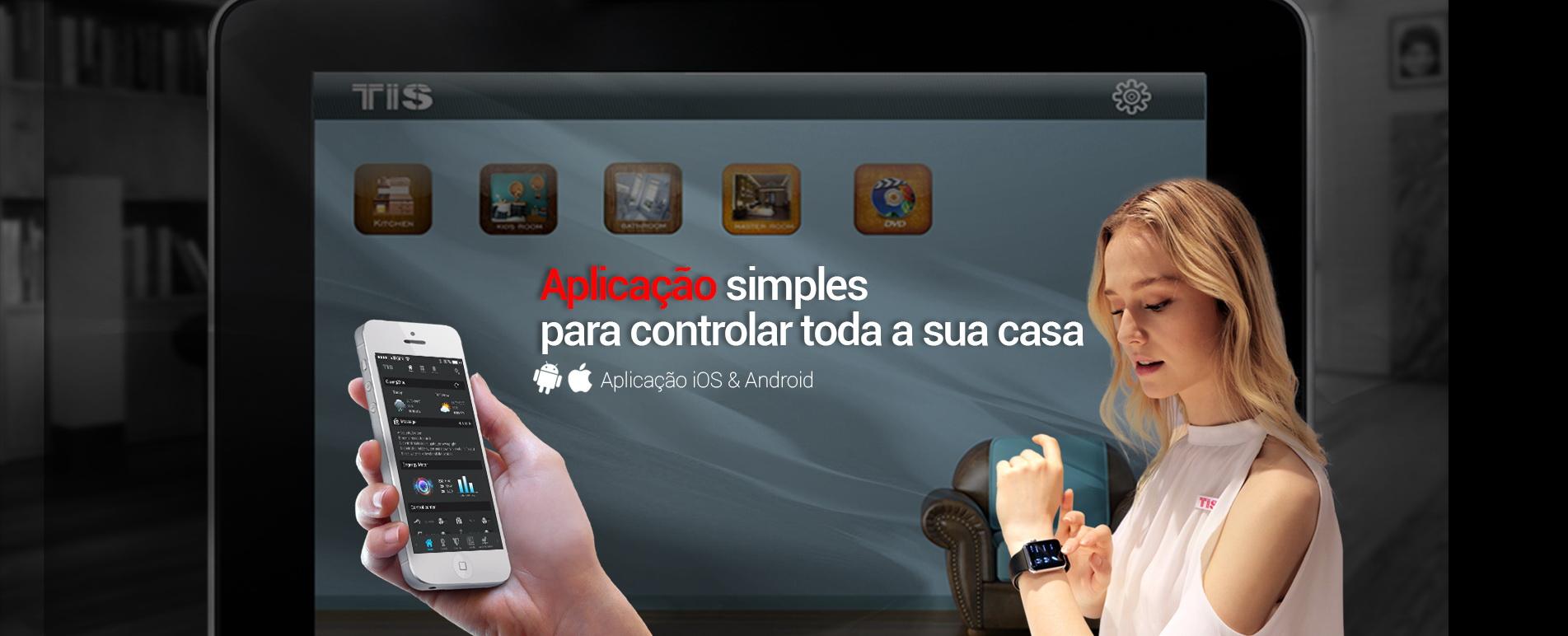 Controle a sua smart home – com a aplicação de relógio Apple TIS